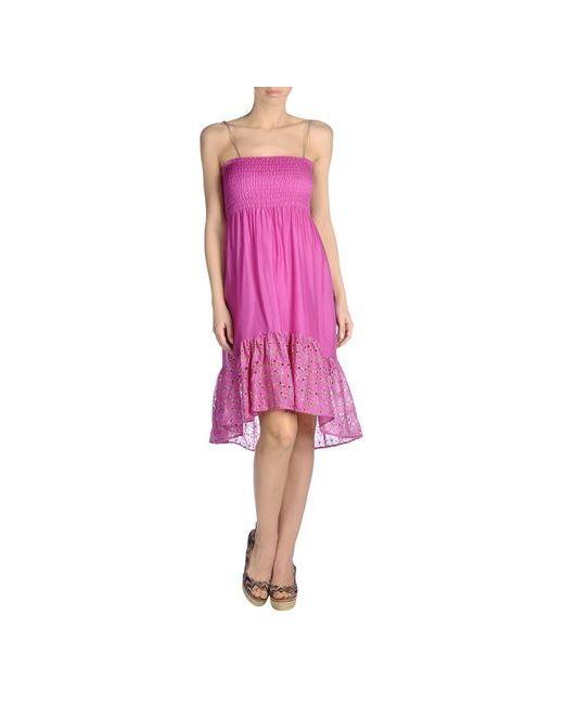 Miss Bikini | Женское Фиолетовое Пляжное Платье