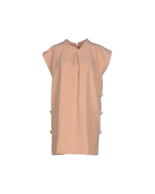 La Camicia Bianca   Женское Песочное Короткое Платье