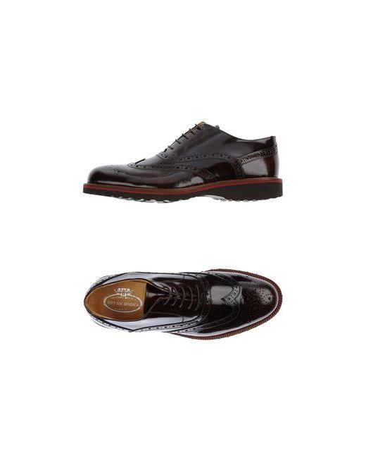 Bryan Shoes | Мужская Коричневая Обувь На Шнурках