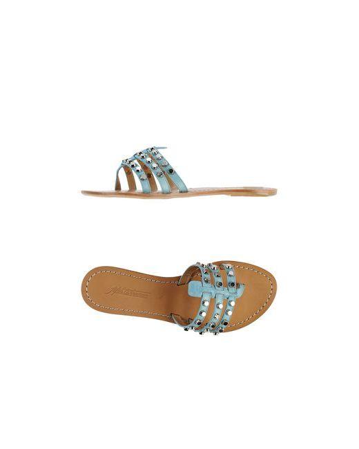 Fifth Avenue Shoe Repair   Женские Голубы Вьетнамки