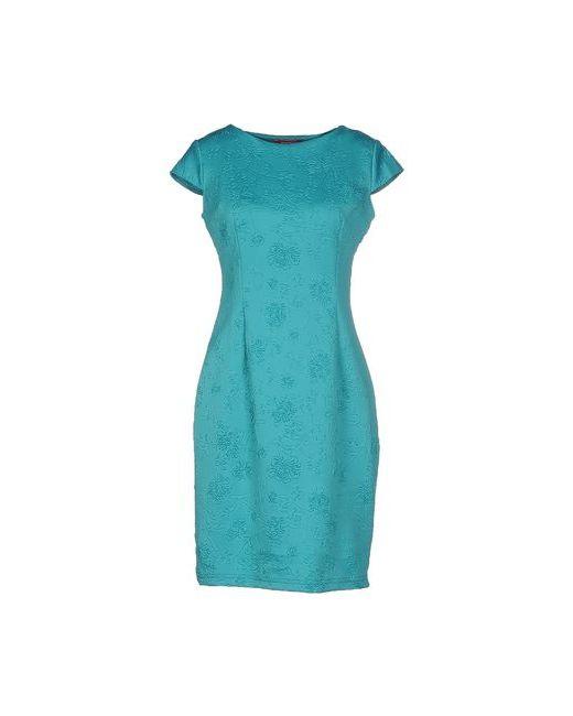 MAIOCCI | Женское Бирюзовое Короткое Платье