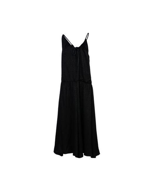 Maison Margiela   Женское Чёрное Длинное Платье