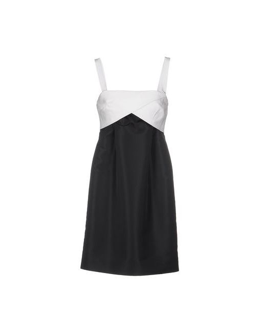 Maison Olivia | Женское Чёрное Короткое Платье