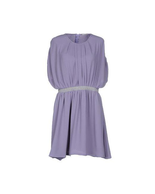 Noshua   Женское Фиолетовое Короткое Платье