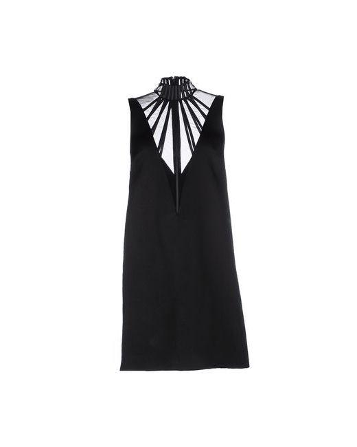 Christopher Kane   Женское Чёрное Короткое Платье