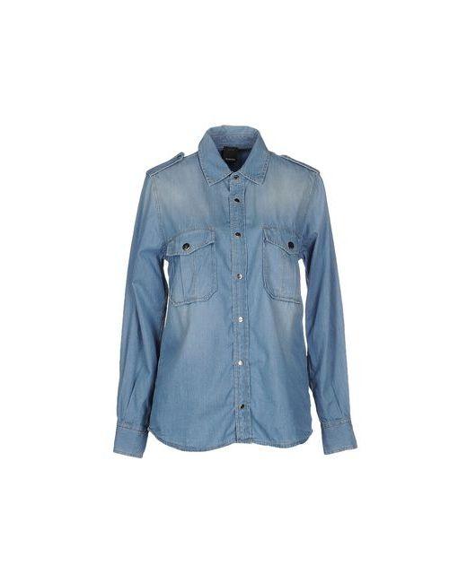 Pinko Black   Женская Синяя Джинсовая Рубашка