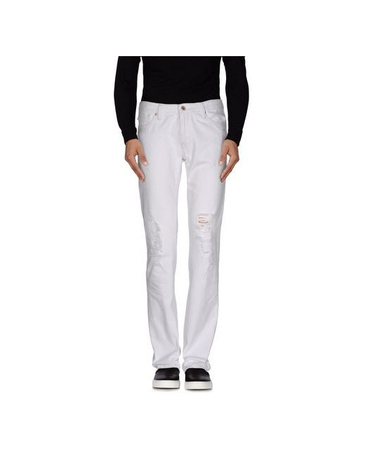 Polo Jeans Company   Мужские Белые Джинсовые Брюки
