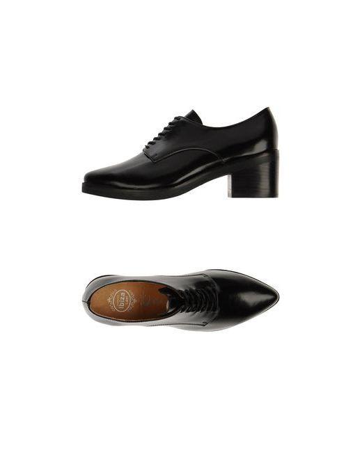 Jeffrey Campbell | Мужская Чёрная Обувь На Шнурках
