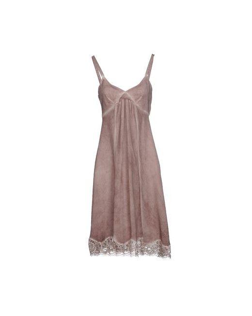 Tru Trussardi | Женское Серое Платье До Колена