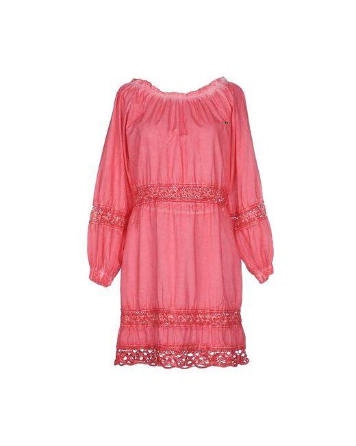 MET | Женское Фиолетовое Короткое Платье