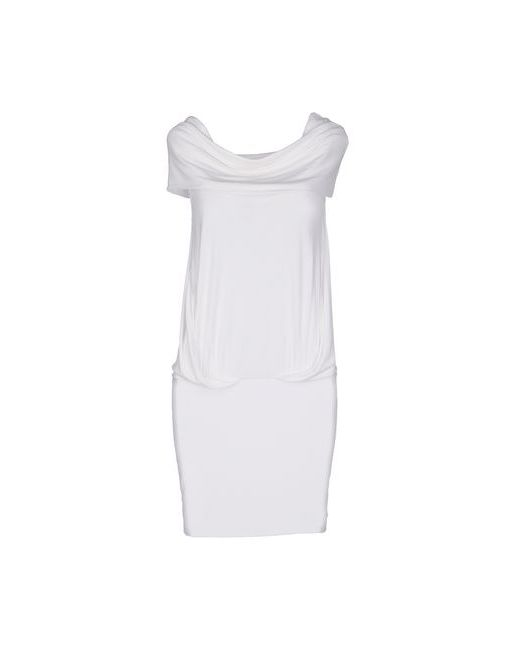 Plein Sud Jeanius | Женское Белое Короткое Платье
