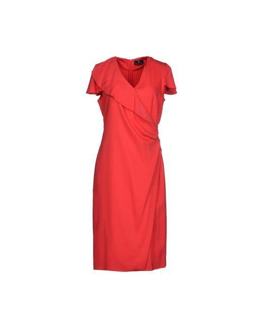 Rena Lange   Женское Красное Платье До Колена