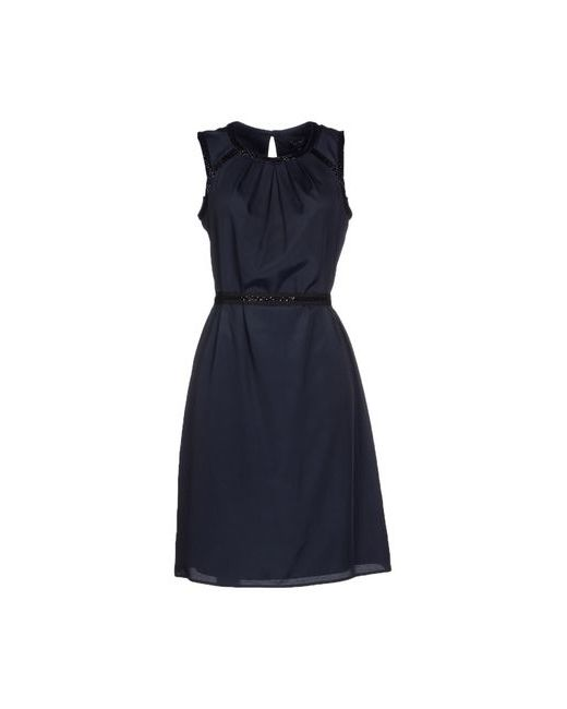 ARMANI JEANS   Женское Синее Платье До Колена