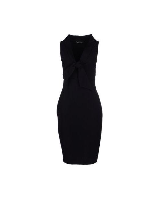 Dsquared2   Мужское Чёрное Платье До Колена