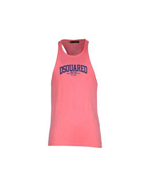 Dsquared2 | Мужская Розовая Майка