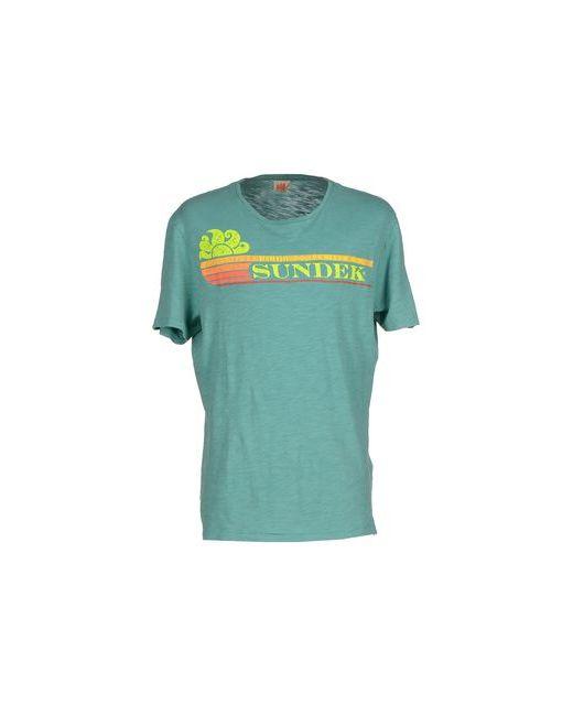 Sundek | Мужская Зелёная Футболка