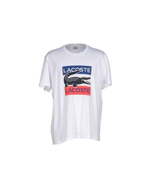 Lacoste Sport | Мужская Белая Футболка
