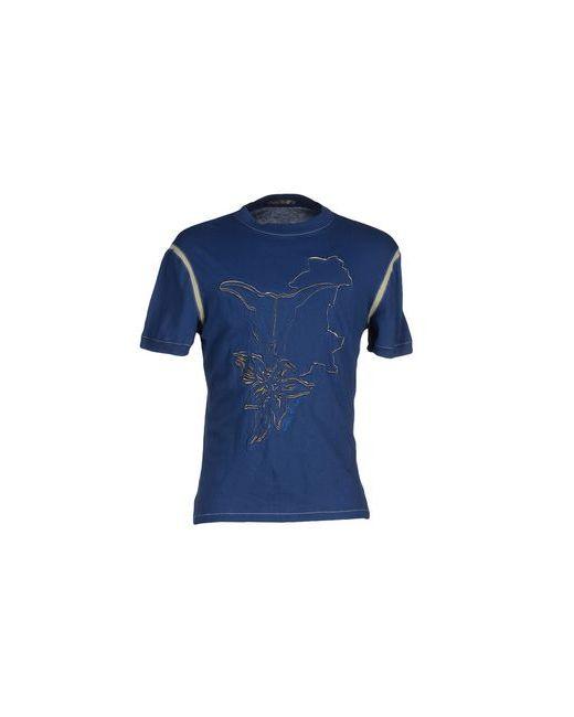 Class Roberto Cavalli | Мужская Синяя Футболка