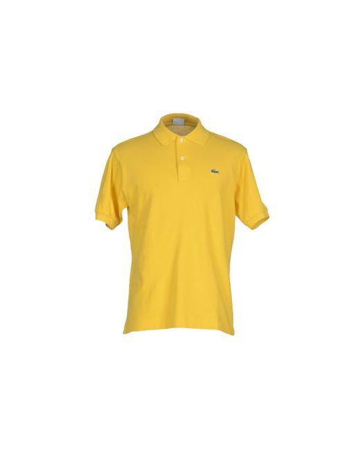 Lacoste | Мужское Жёлтое Поло