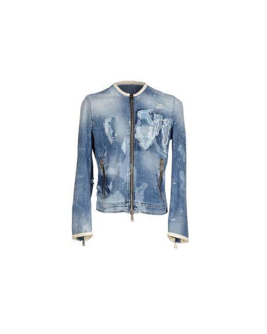 Dsquared2   Женская Синяя Джинсовая Верхняя Одежда