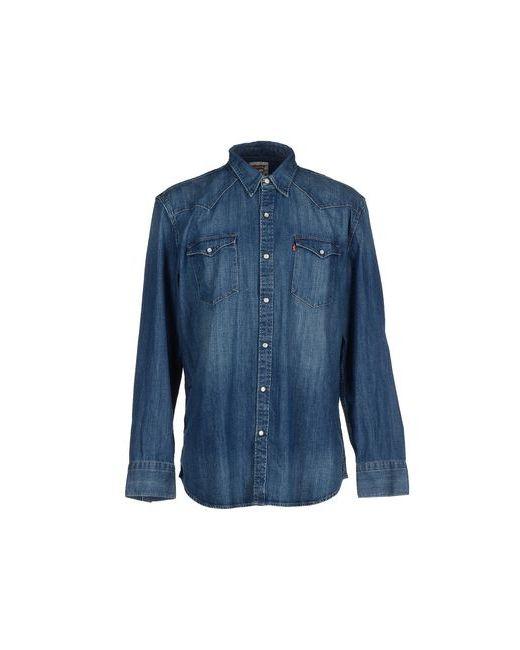 Levi'S Red Tab | Мужская Синяя Джинсовая Рубашка