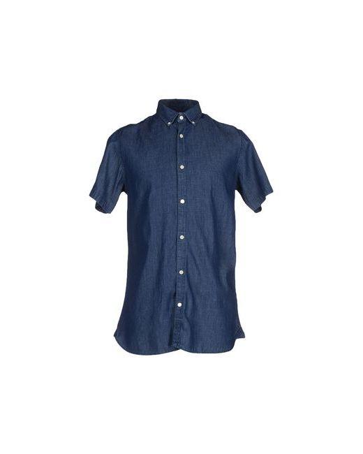 Selected Homme   Мужская Синяя Джинсовая Рубашка