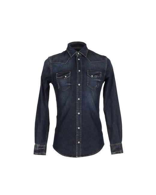 Dolce & Gabbana   Мужская Синяя Джинсовая Рубашка