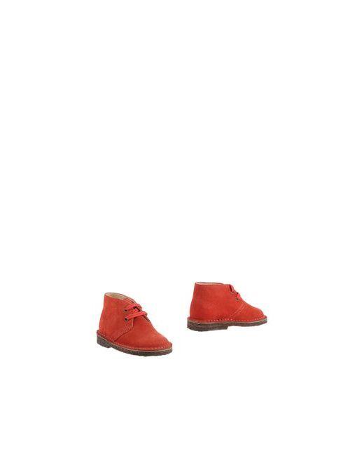 Equerry | Мужские Красные Полусапоги И Высокие Ботинки