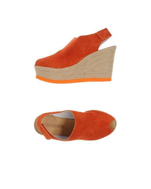 Lambretta | Женские Оранжевые Эспадрильи