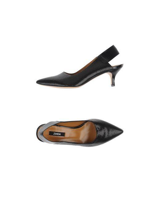 Zinda | Женские Чёрные Туфли
