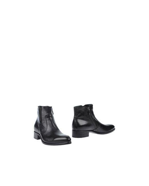 Alberto Guardiani | Мужские Чёрные Полусапоги И Высокие Ботинки
