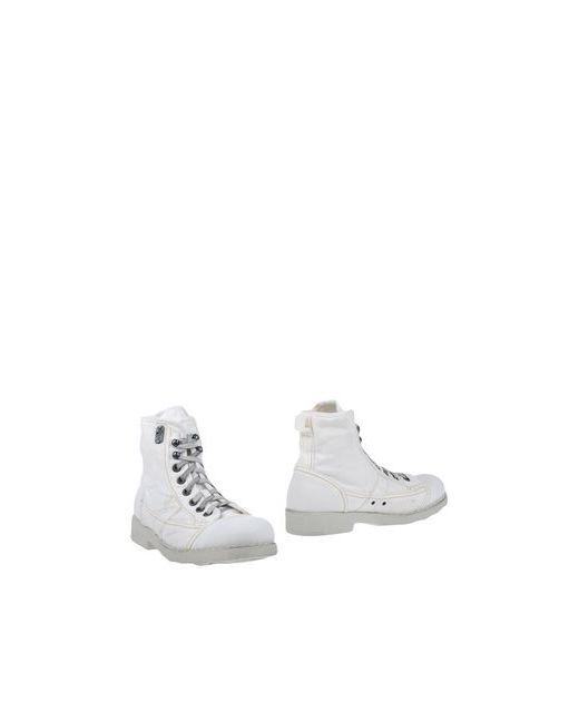 O.X.S. | Мужские Белые Полусапоги И Высокие Ботинки