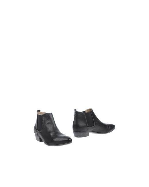 Manas | Женские Чёрные Ботинки