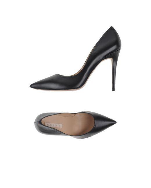 Pura López | Женские Чёрные Туфли