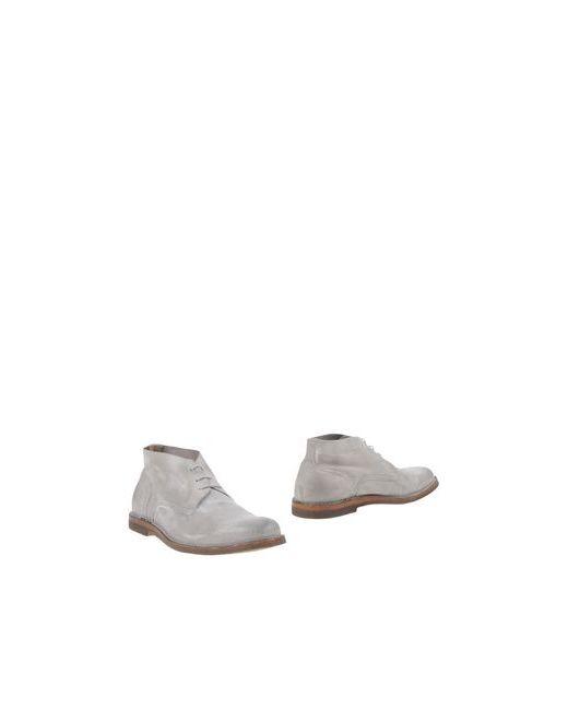 Pantanetti | Мужские Серые Полусапоги И Высокие Ботинки