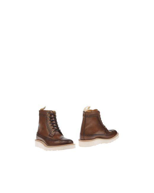 Tricker'S | Мужские Какао Полусапоги И Высокие Ботинки
