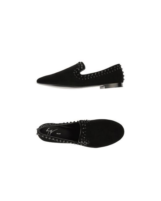 Giuseppe Zanotti Design | Мужские Чёрные Мокасины