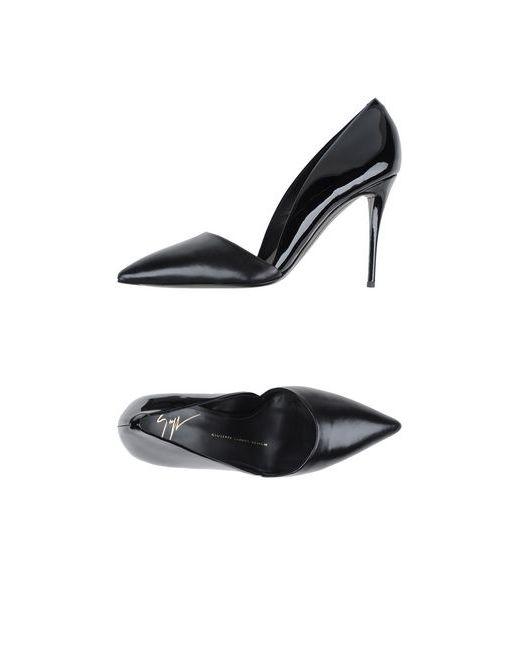 Giuseppe Zanotti Design   Женские Чёрные Туфли