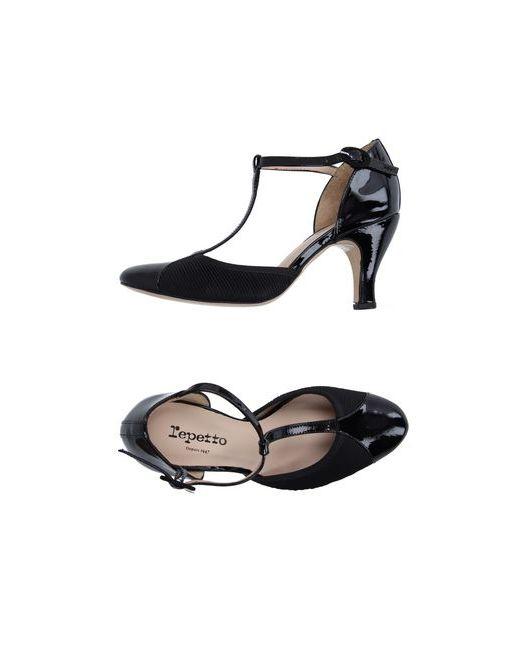 Repetto | Женские Чёрные Туфли
