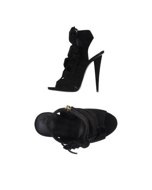 Giuseppe Zanotti Design   Женские Чёрные Сандалии