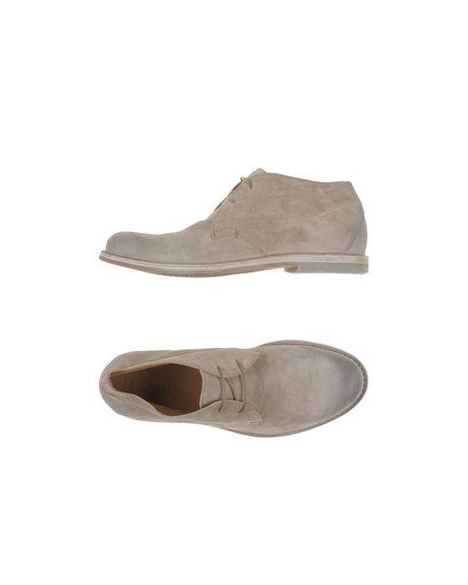 Pantanetti   Мужская Бежевая Обувь На Шнурках