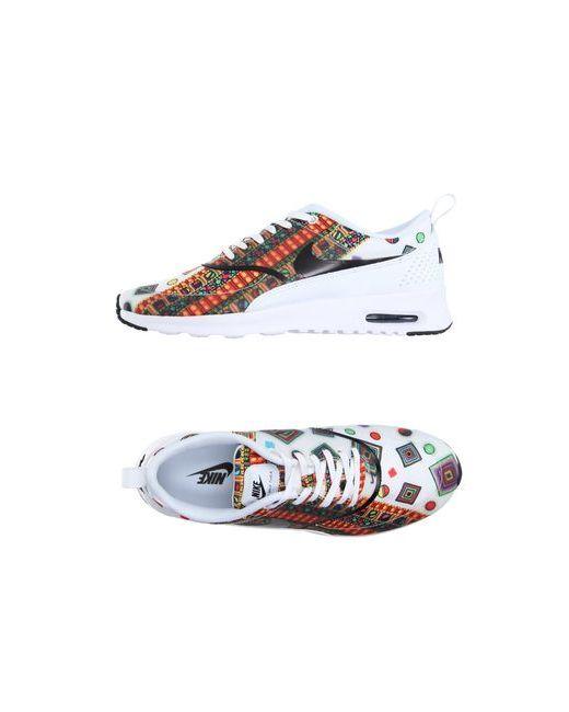 Nike | Женские Белые Низкие Кеды И Кроссовки