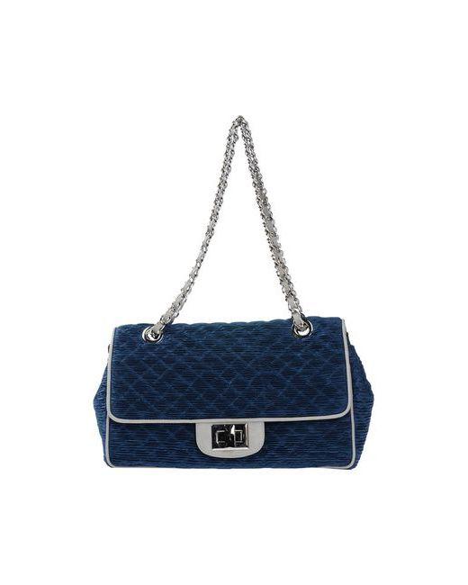 Baroco | Женская Синяя Сумка На Плечо