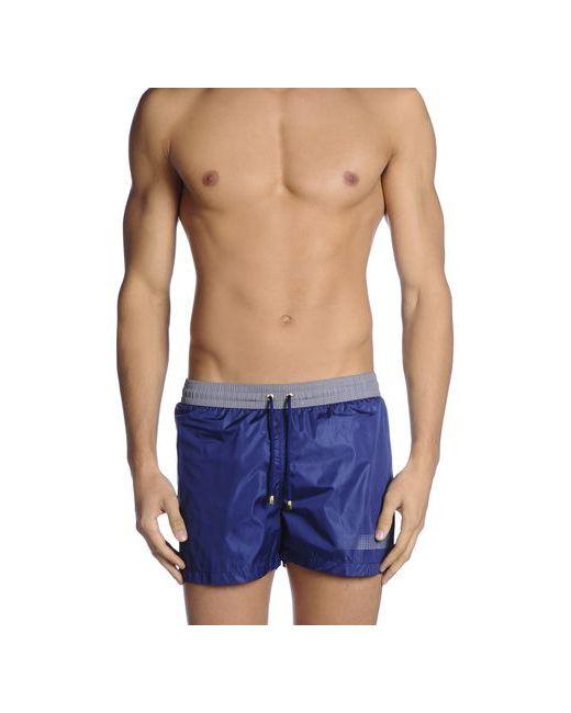 Cesare Paciotti Beachwear | Мужские Синие Шорты Для Плавания