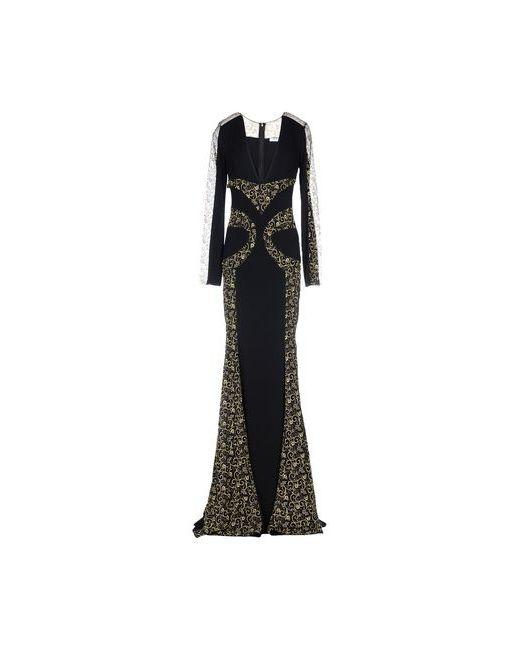 Blumarine | Женское Чёрное Длинное Платье