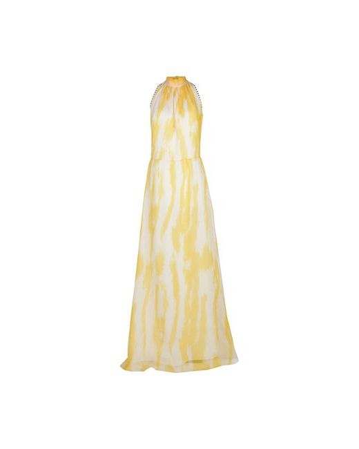 BeaYukMui   Женское Жёлтое Длинное Платье