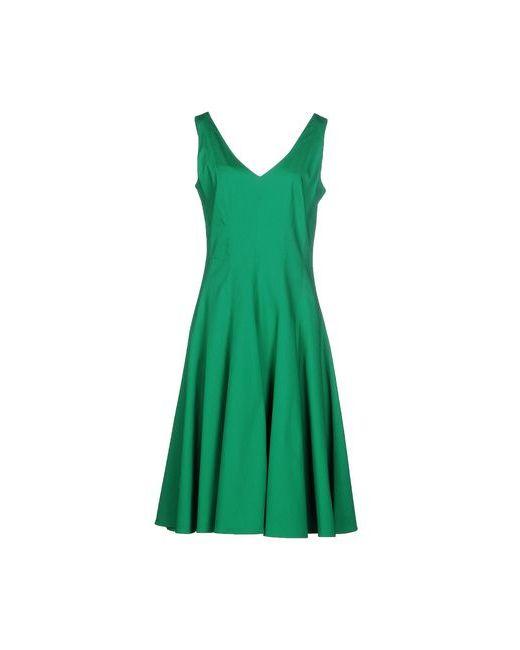 P.A.R.O.S.H. | Женское Зелёное Платье До Колена