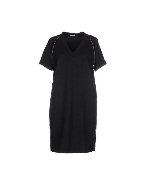 Brunello Cucinelli | Женское Серое Короткое Платье