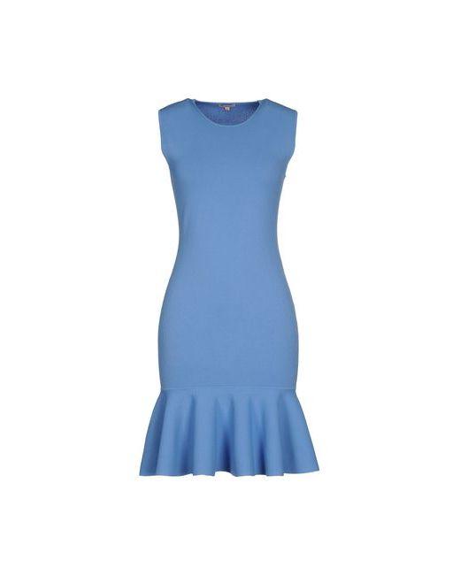 P.A.R.O.S.H.   Женское Лазурное Короткое Платье