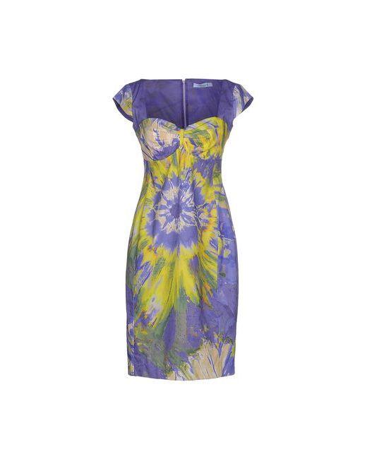 Blumarine   Женское Фиолетовое Короткое Платье